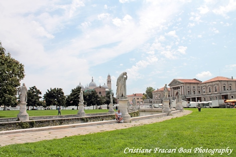 piazza prato della valle, Padova